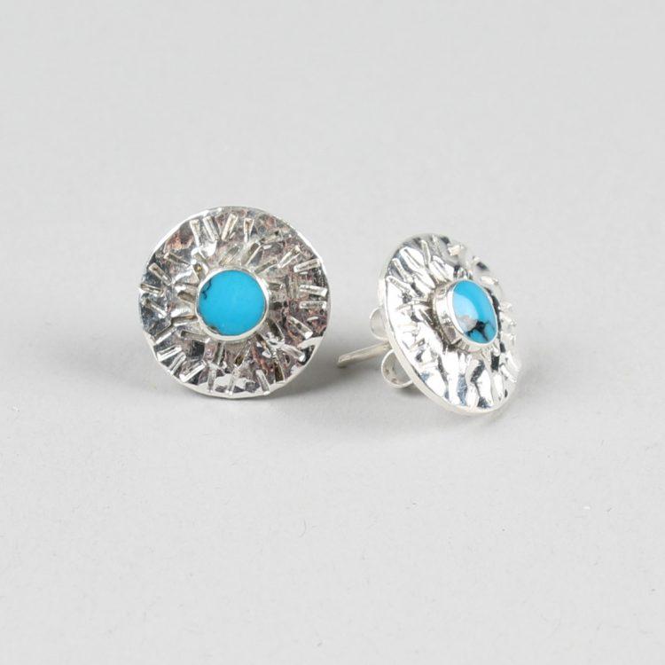 Rustic starburst stud earrings | TradeAid