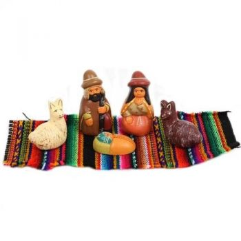 Nativity set on blanket   TradeAid