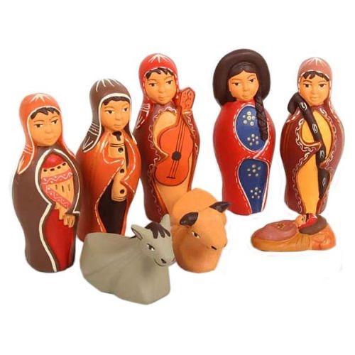 Large ceramic nativity set | TradeAid