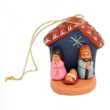 Ceramic nativity hanging with star | TradeAid