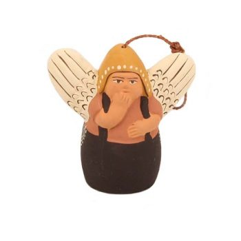 Ceramic angel hanging ornament | TradeAid