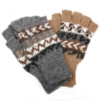 Fingerless alpaca gloves | TradeAid
