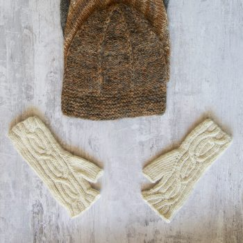 Alpaca fingerless gloves | TradeAid