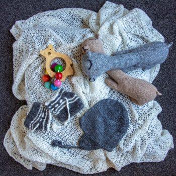 White alpaca shawl | TradeAid