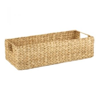 Natural seagrass tray with window handle | TradeAid