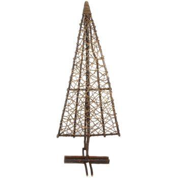 Large flat standing galtang vine christmas tree | TradeAid