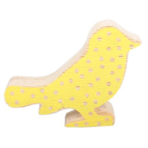 Yellow spot standing bird | TradeAid