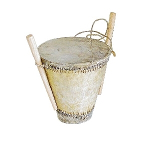 Drum with 2 drumsticks | TradeAid