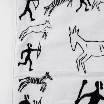 Hunting scene cushion cover | Gallery 1 | TradeAid