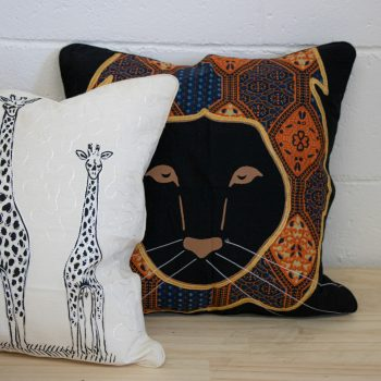Lion cushion cover   Gallery 1   TradeAid
