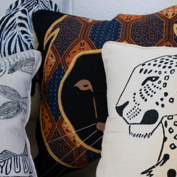 Lion cushion cover   Gallery 2   TradeAid