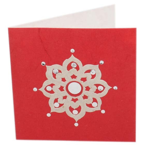 Thai floral card | TradeAid