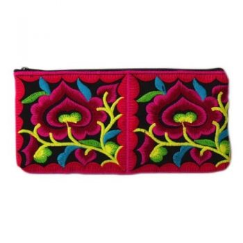 Embroidered pencil bag | TradeAid