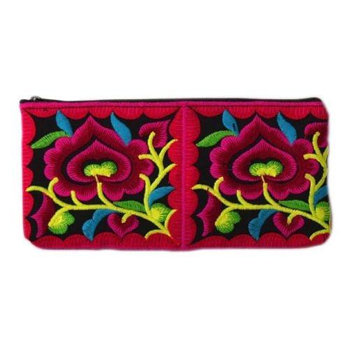 Embroidered pencil bag | TradeAid