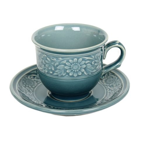 Celadon cup and saucer | TradeAid