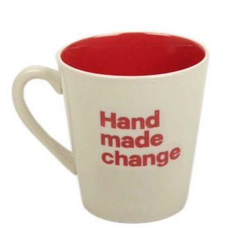 Hand made change coffee cup | TradeAid
