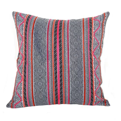 Hmong batik design cushion cover | TradeAid