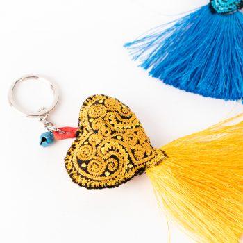 Heart key ring | Gallery 1 | TradeAid