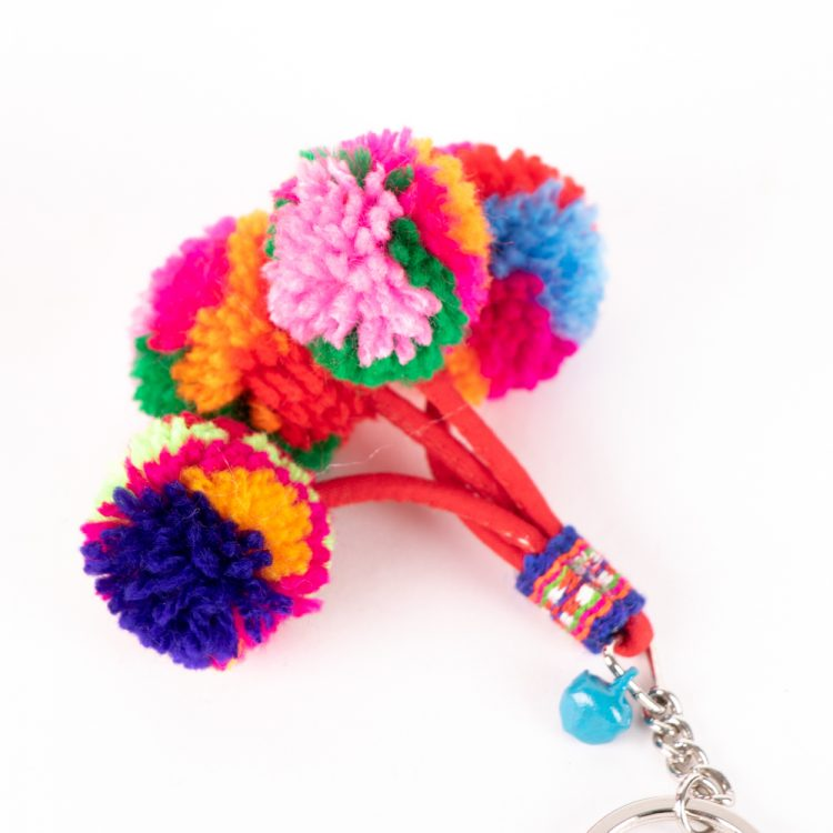 Pompom key ring | Gallery 1 | TradeAid