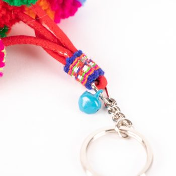 Pompom key ring | Gallery 2 | TradeAid