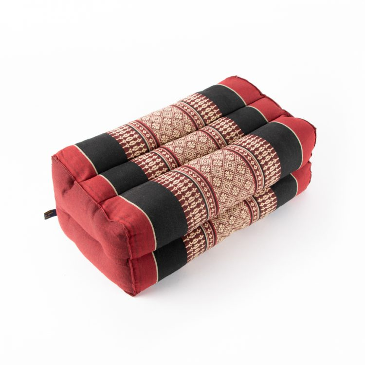 Maroon thai pillow seat | TradeAid