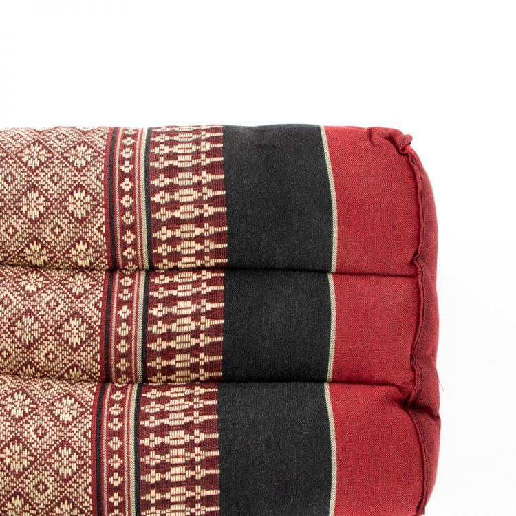 Maroon thai pillow seat | Gallery 2 | TradeAid
