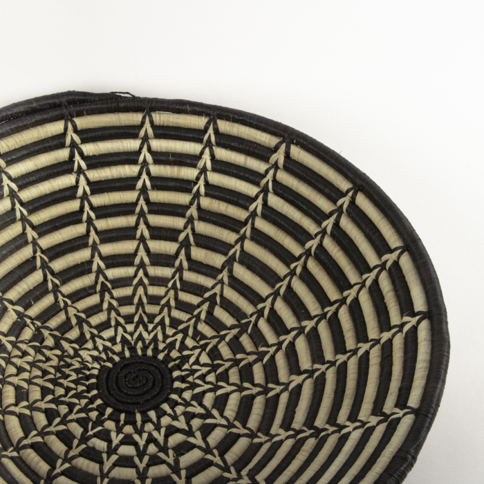 Black and white woven bowl | Gallery 2 | TradeAid