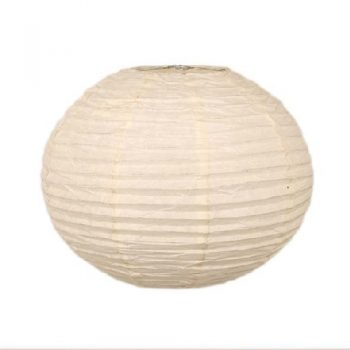Lampshades trade aid round white paper lampshade greentooth Image collections