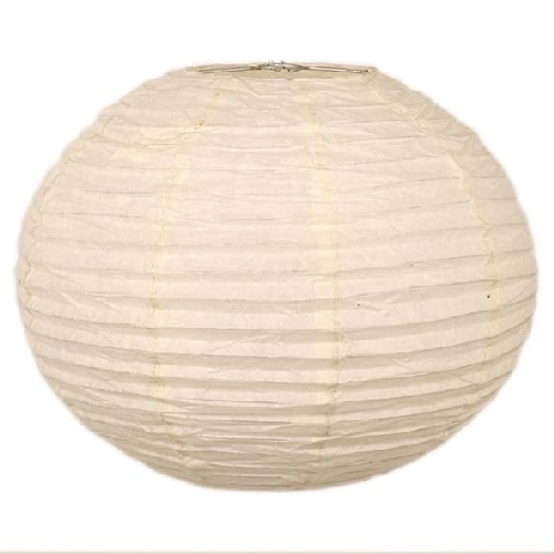Large white paper lampshade | TradeAid