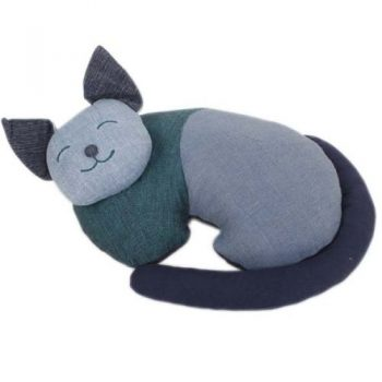 Sleeping cat doorstop | TradeAid