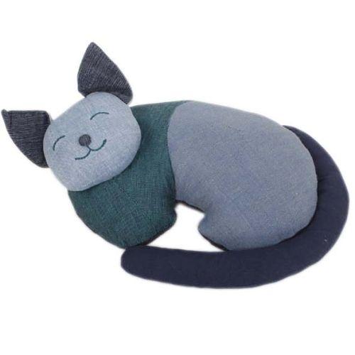 Sleeping cat doorstop | TradeAid