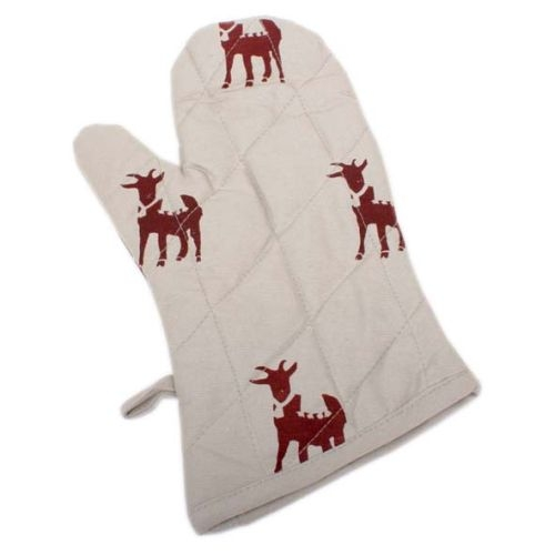 Goat print oven glove | TradeAid