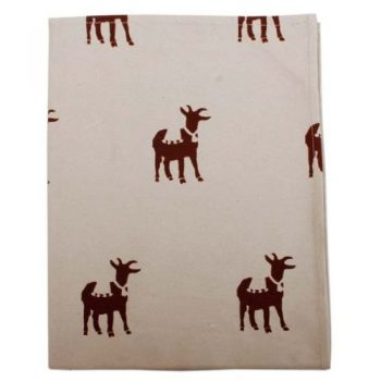 Goat print cotton teatowel | TradeAid