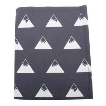 Mountain print cotton teatowel | TradeAid