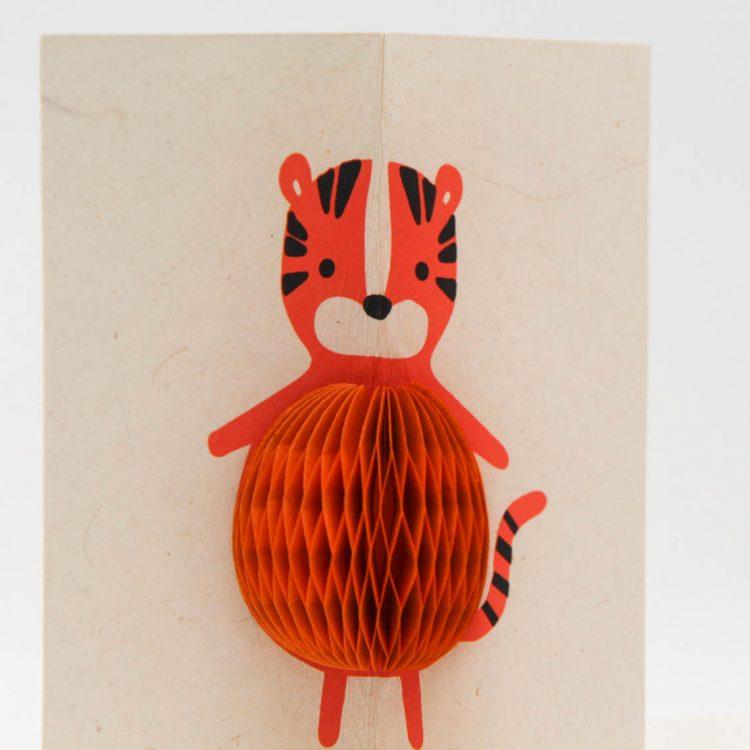 Honeycomb tiger card | Gallery 1 | TradeAid