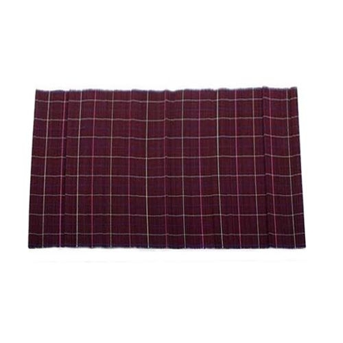 Plum bamboo placemat   TradeAid