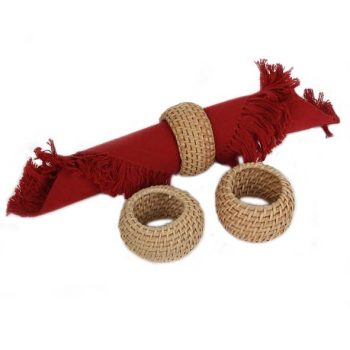 Rattan napkin ring | TradeAid
