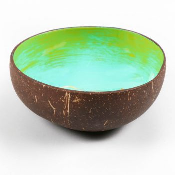 Floral coconut shell bowl   Gallery 1   TradeAid