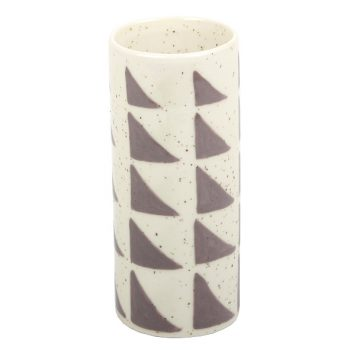 Lolo patterned speckle vase | TradeAid