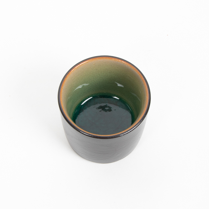Teal and black teacup | Gallery 2 | TradeAid