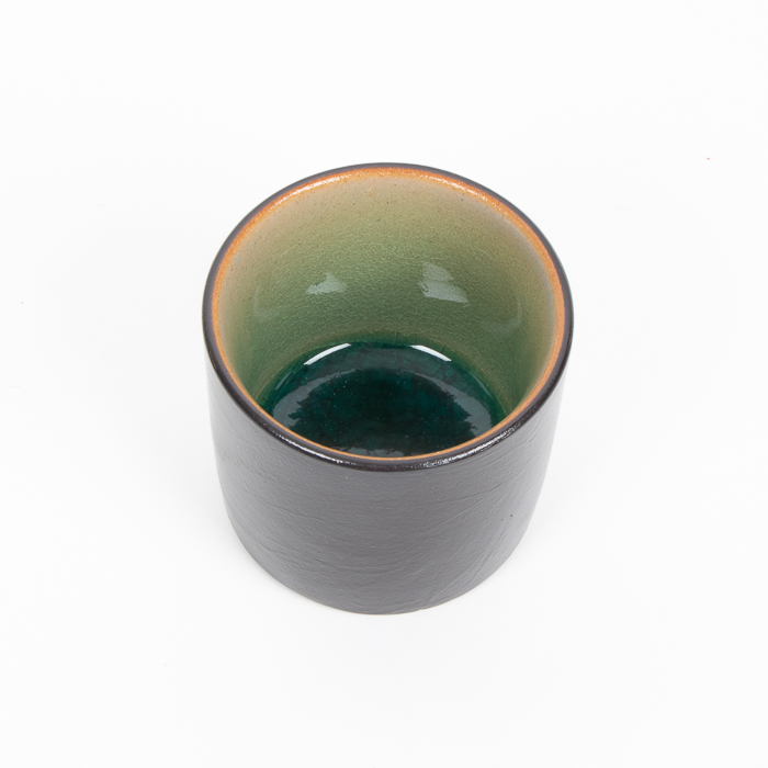 Teal and black teacup | Gallery 1 | TradeAid
