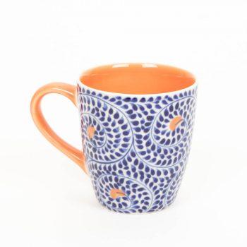 Blue spiral mug | TradeAid