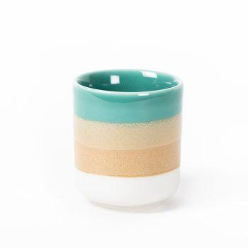 Beach glazed teacup | TradeAid