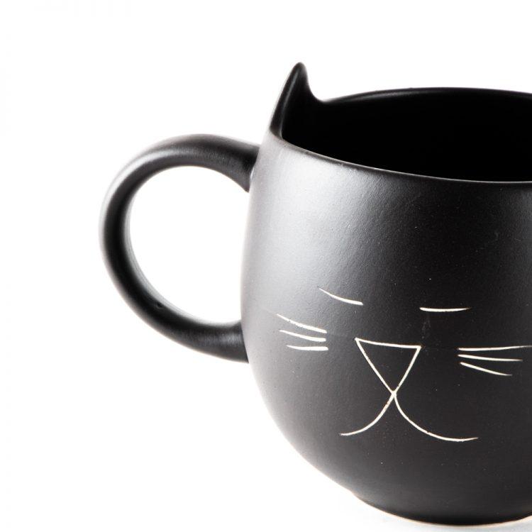 Black cat mug   Gallery 1   TradeAid
