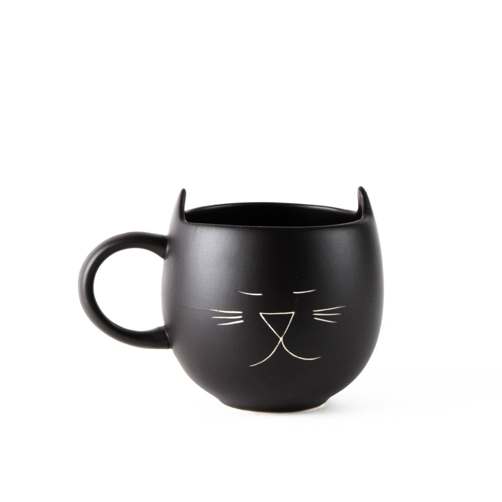 Black cat mug | TradeAid