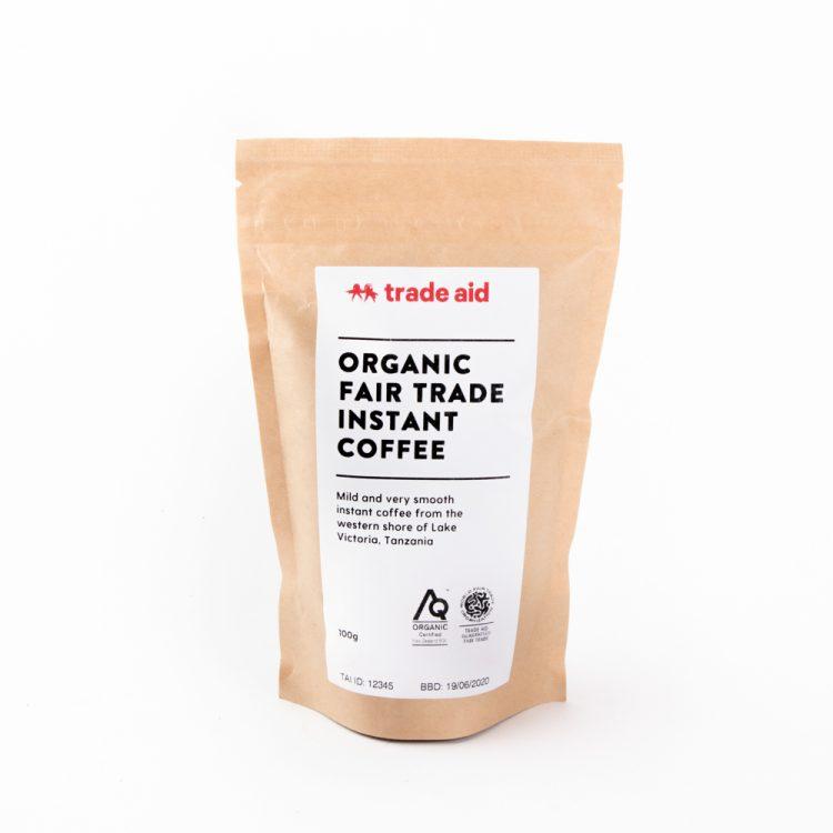 Organic instant coffee – 100g | TradeAid
