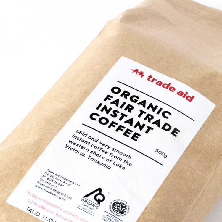 Organic instant coffee – 500g | Gallery 2 | TradeAid
