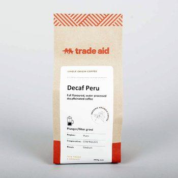Decaf peru – medium grind | TradeAid