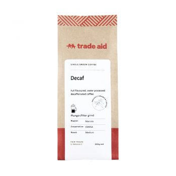 Decaf peru – medium grind | TradeAid