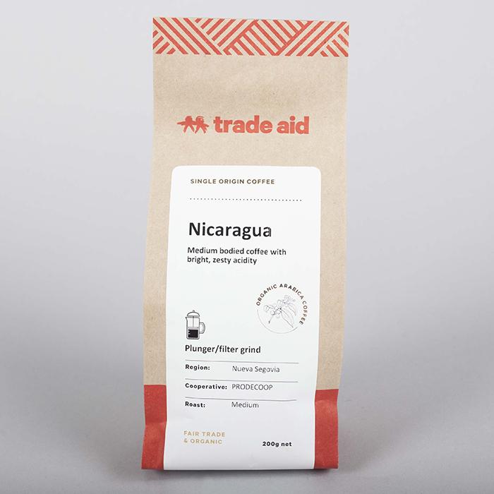 Nicaraguan single origin – medium grind | TradeAid